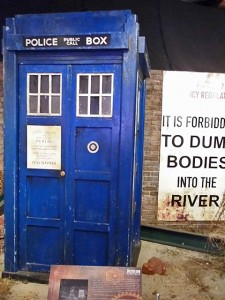 The Tardis at Dr Who
