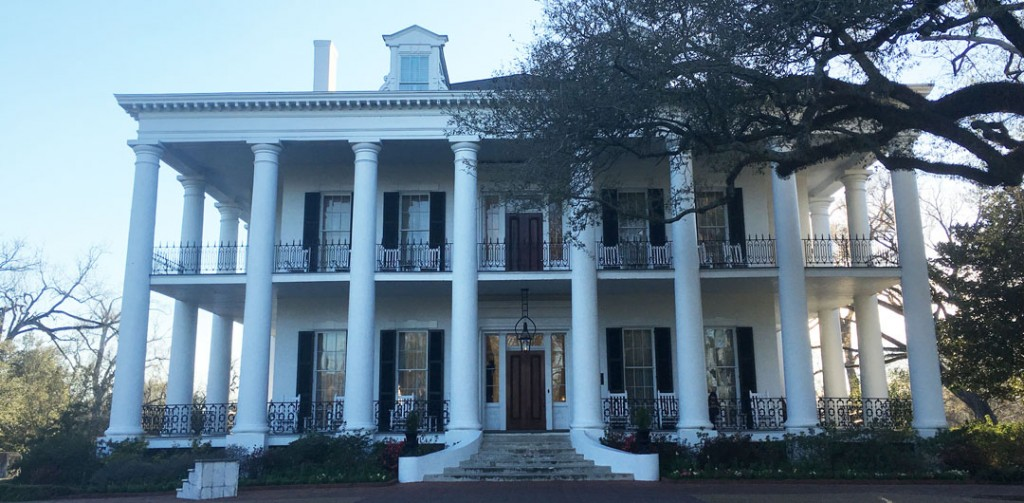 Oak Alley Plantation Interview With A Vampire Driving from New Orlea...