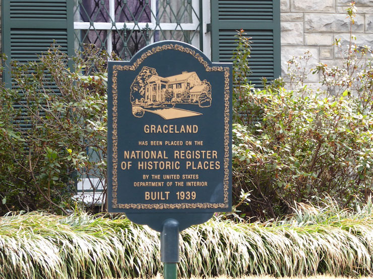 Graceland Sign, Memphis