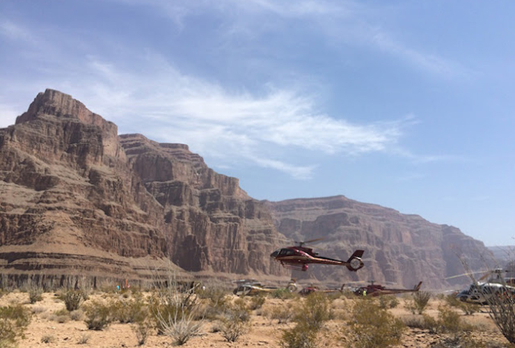 The Grand Canyon Helicopter Trip