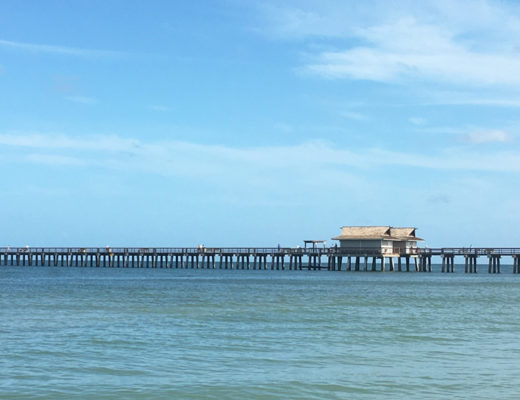 Naples Pier and Beach, florida