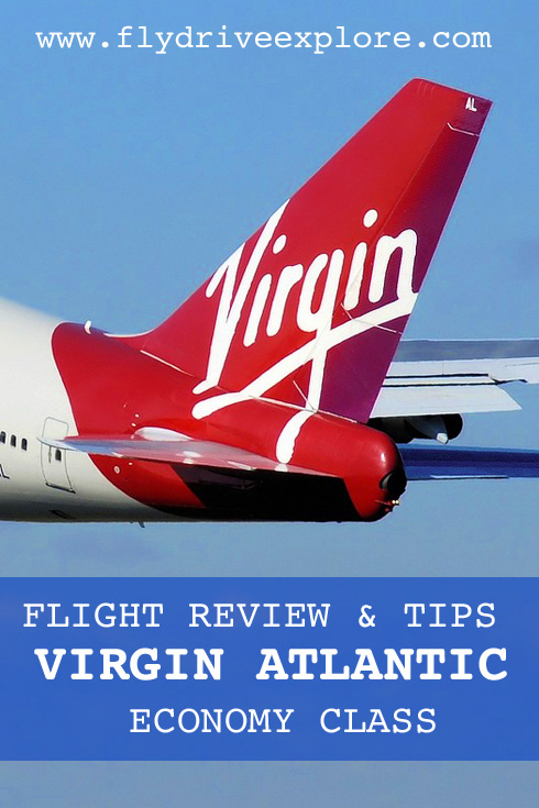 Flight review and tips on flying Virgin Atlantic economy class