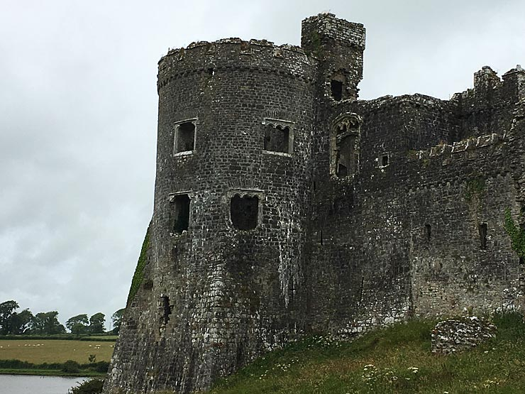 Carew Castle South West Tower
