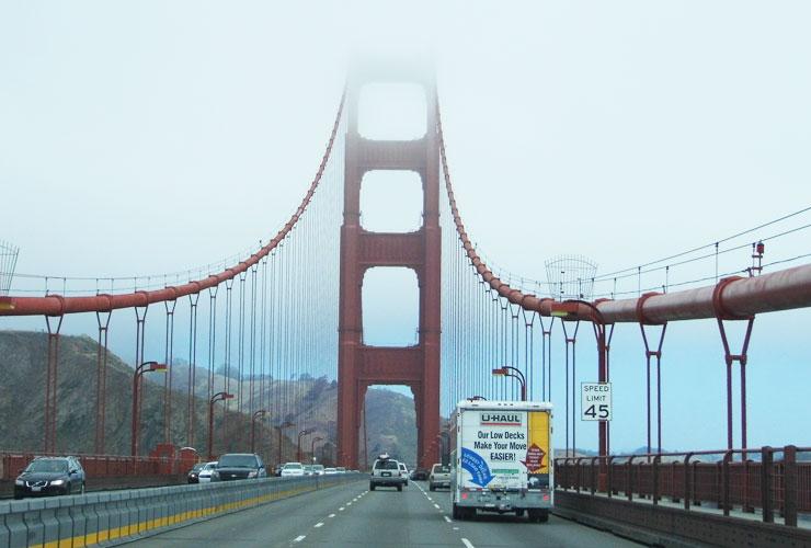 Golden Gate Bridge Road Trip