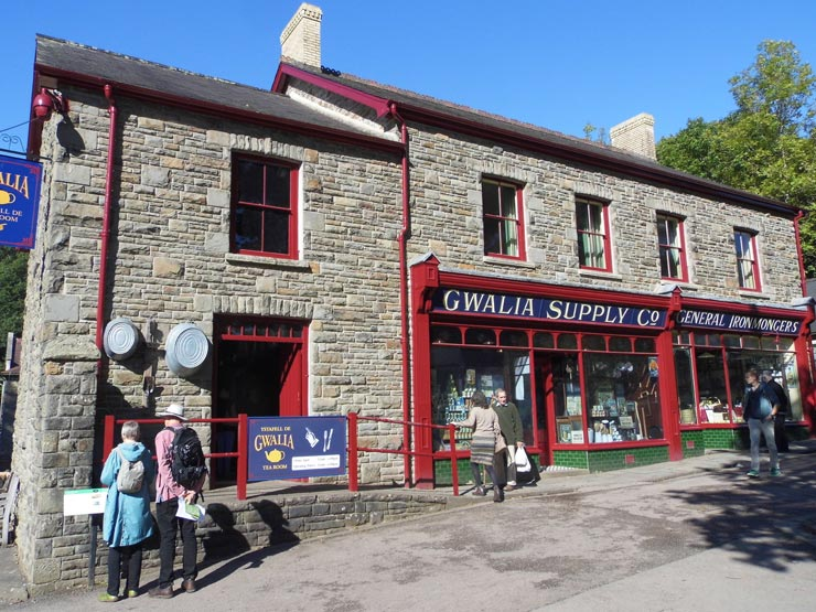 Gwalia Stores - The old town shops