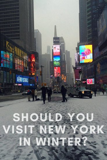 New York In Winter Should You Visit Nyc During January