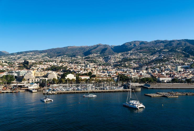 Funchal, the capital of Madeira