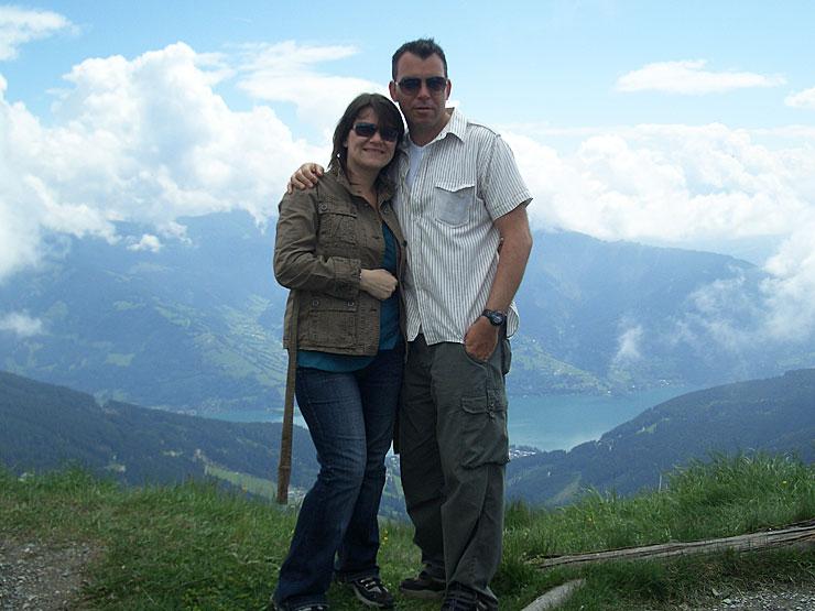 Mel and Marcus Austria 2007