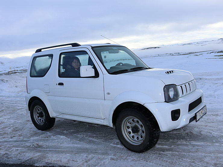The trusty Suzuki Jimny