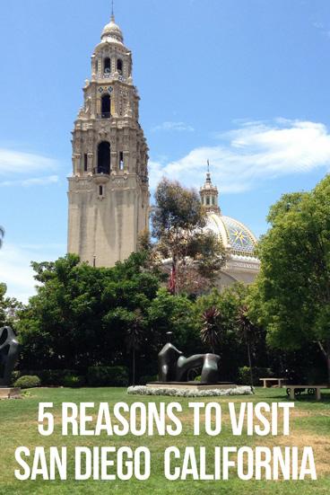 5 Reasons To Visit San Diego
