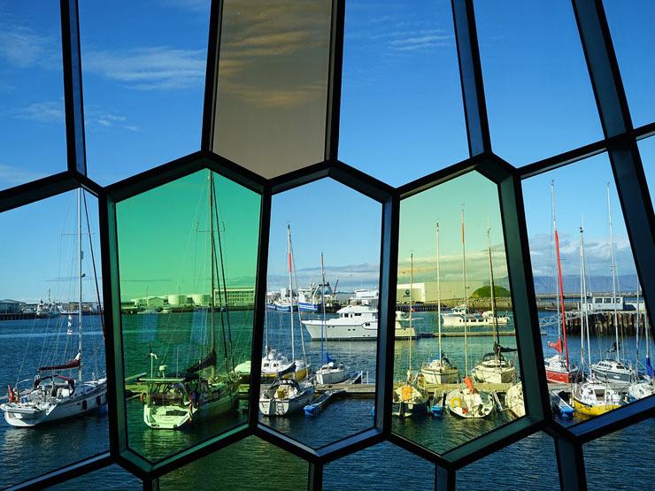 Harpa Window
