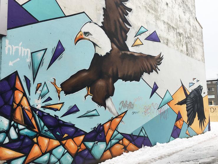 Reykjavik Street Art 3