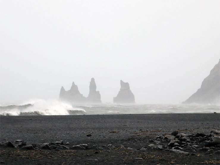 Vik During A Storm