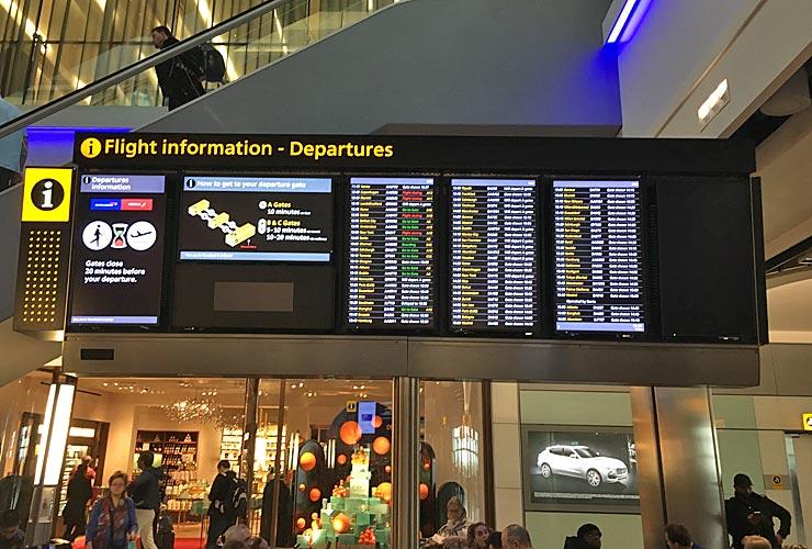 Terminal 5 Departures Lounge