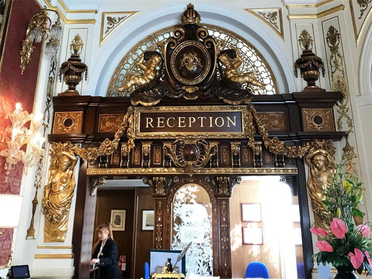 The Grand Hotel Reception