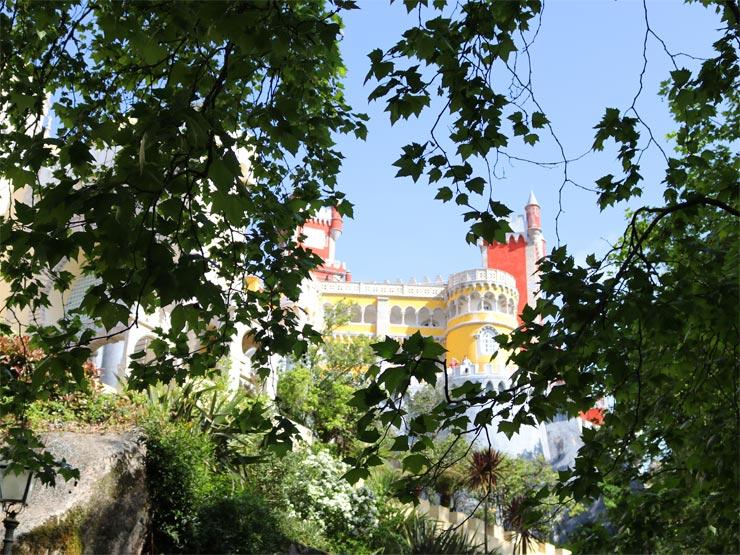The Pena Palace grounds