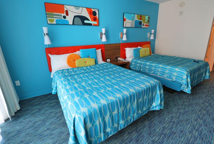 Cabana Bay Bedrooms