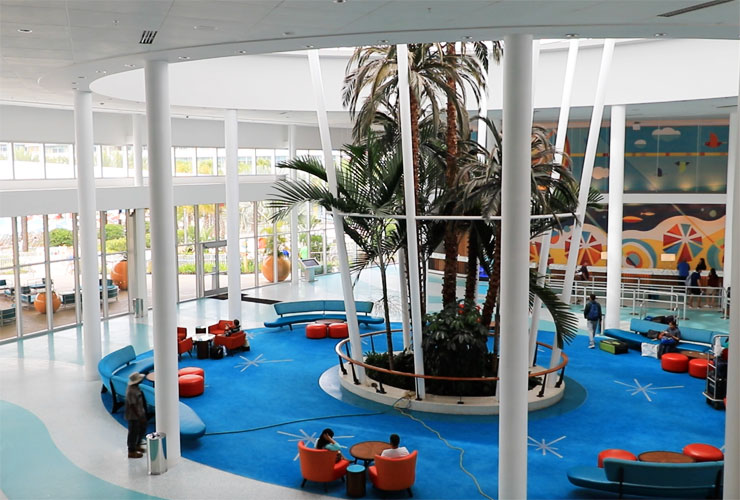 The Cabana Bay Lobby