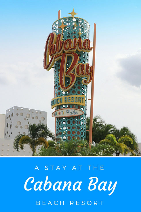 The Cabana Bay Beach Resort, Universal, Orlando