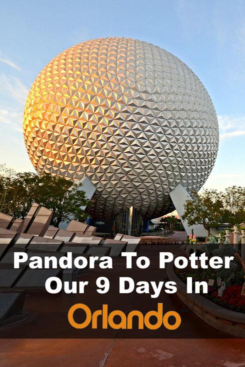 Epcot in Disney, Orlando, Florida