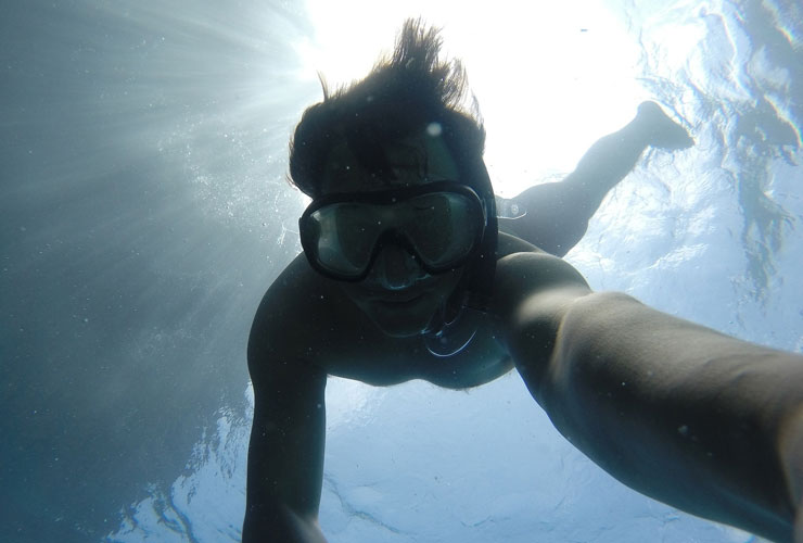 Snorkelling at Montego Bay