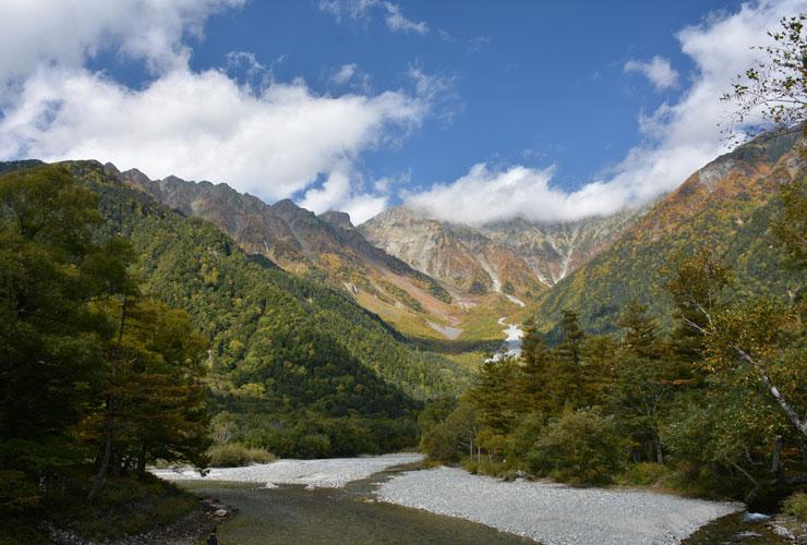 Walk through the Kamikochi Valley