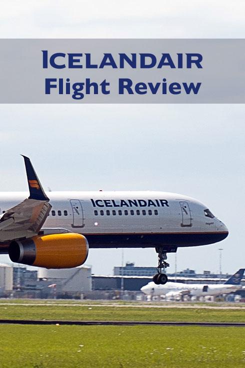 Iceland Air Flight Review - London to Reykjavik