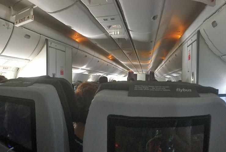 Icelandair Cabin