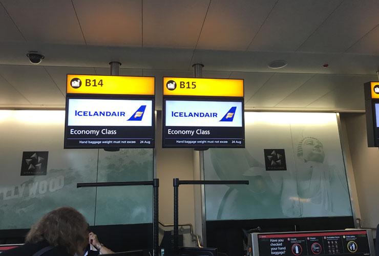 Icelandair Flight Review, our trip from London to Reykjavik  Icelandair Flig...