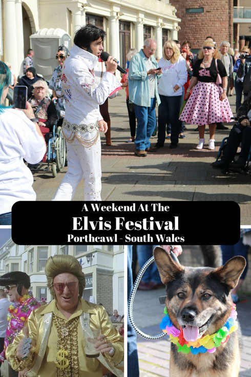 A weekend at the Elvis Festival, Porthcawl, Wales, 2017