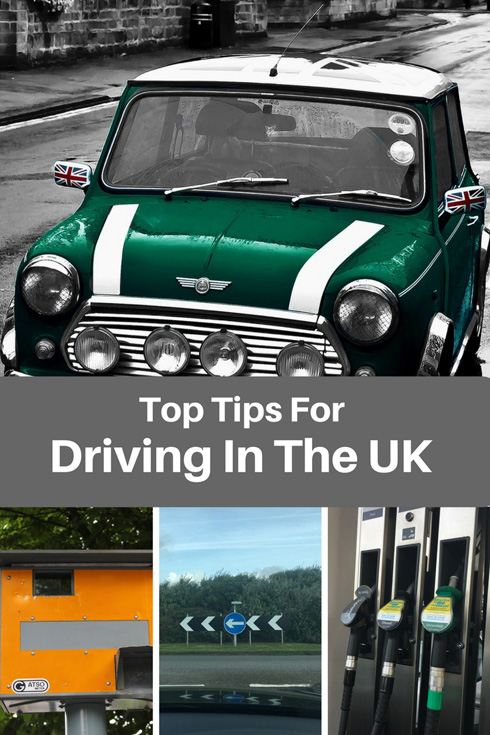 Top tips for driving in the UK