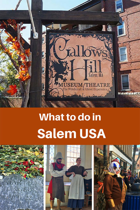 Visiting Salem Massachusetts  for Haunted Happemingd