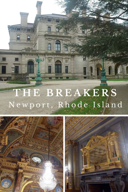 The Breakers Mansion, Newport, Rhode Island, USA