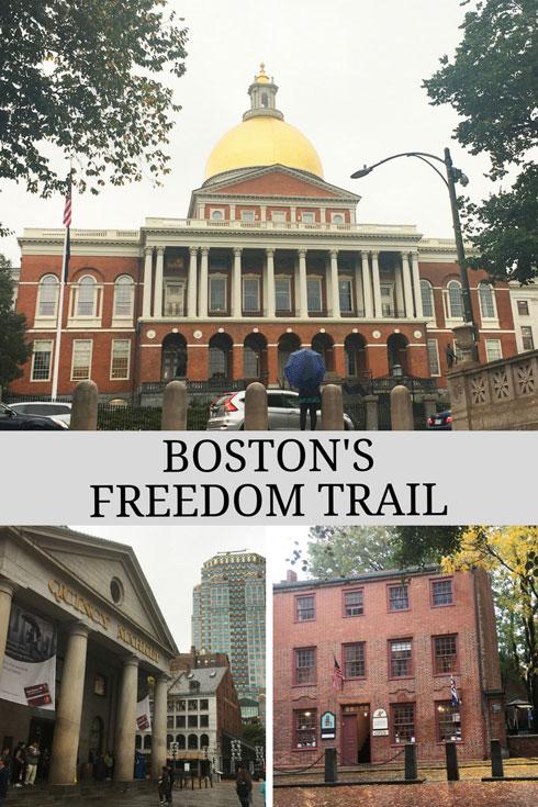 Boston's Freedom Trail, Massachusetts, USA
