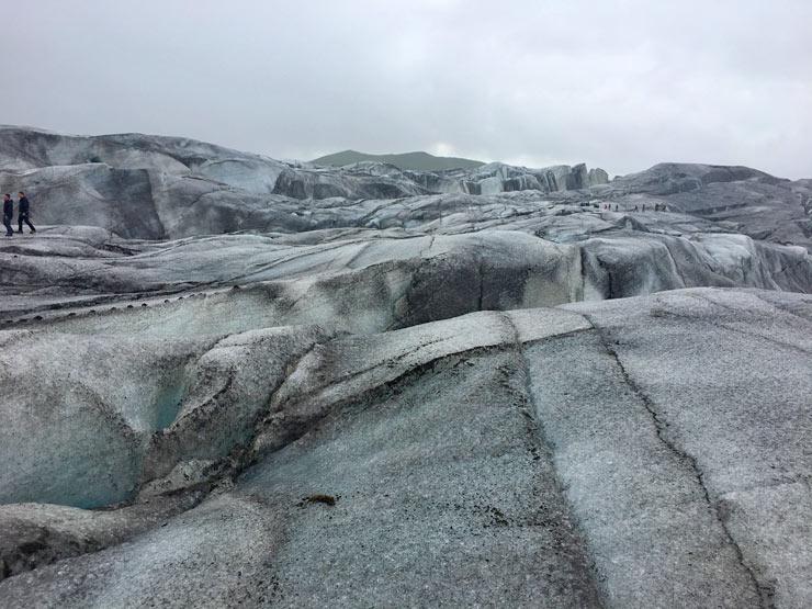 The Svínafellsjökull Glacier