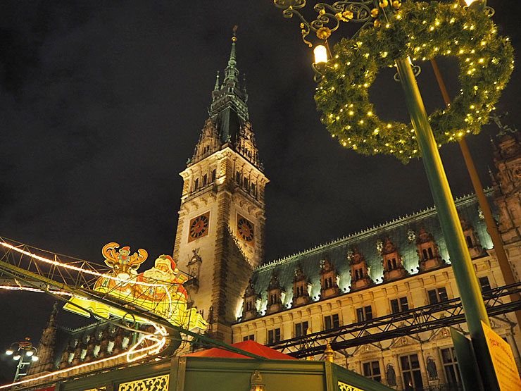 The Rathaus, Hamburg