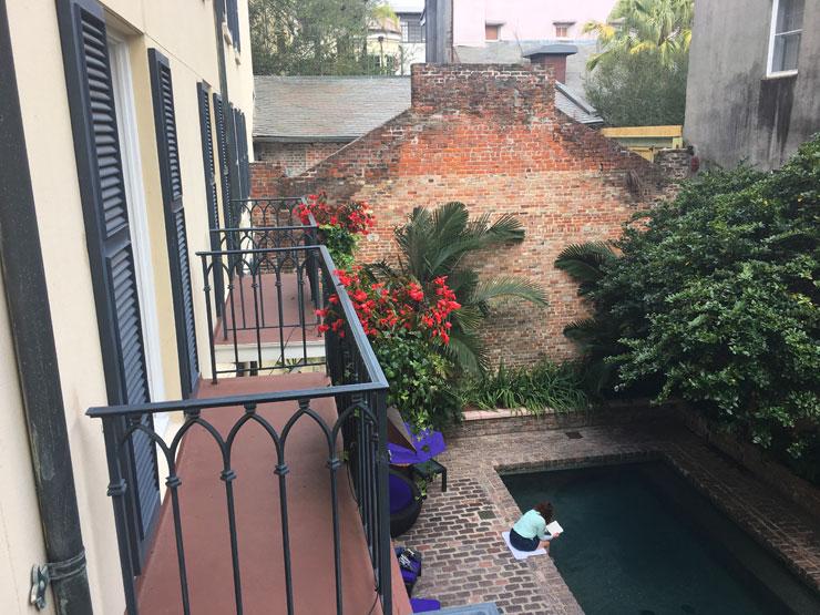 Le Marais Courtyard