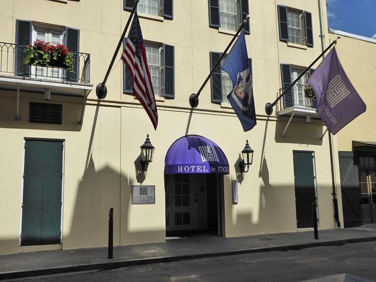 Le Marais Hotel on Conti Street