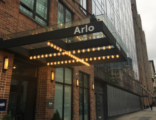A stay at the Arlo Hotel New York