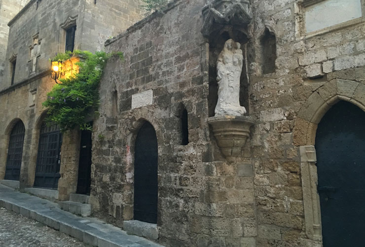 Dusk, Rhodes Old Town