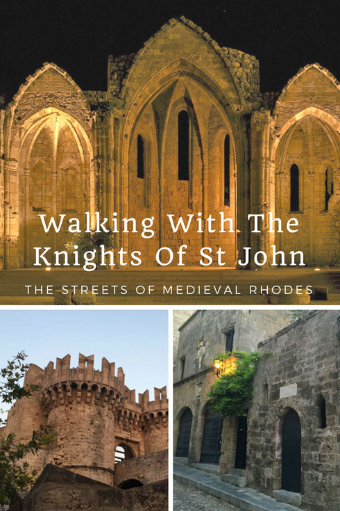 Rhodes Old Town, Greece - Walking with the medieval streets of Rhodes