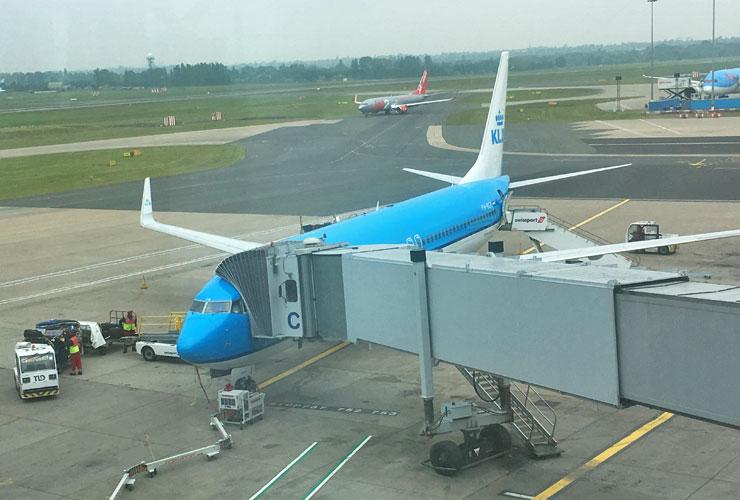 KLM Cityhopper 737