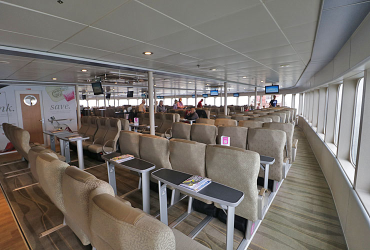 Condor Ferries seating