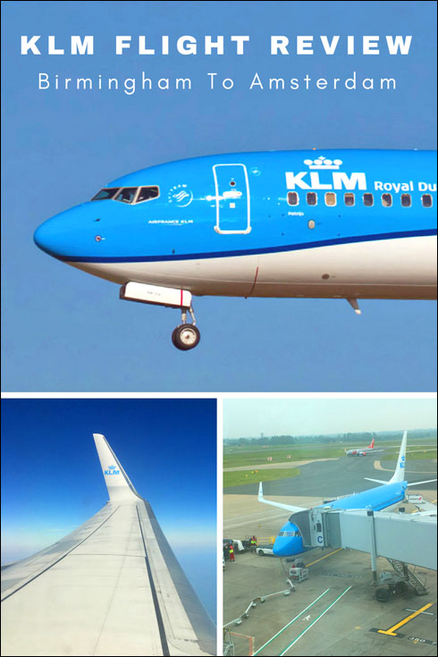 KLM Cityhopper Flight Review. Birmingham UK to Amsterdam Schiphol Airport