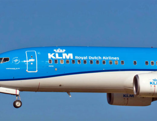 KLM To Amsterdam
