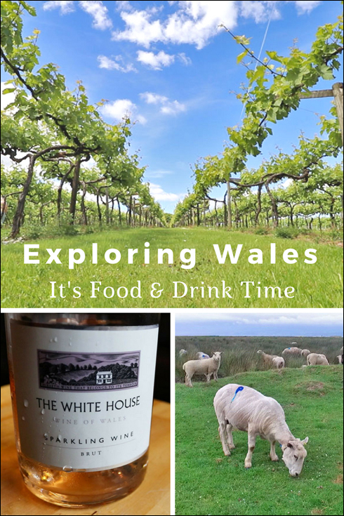 Exploring Wales - It's local food and drink time.