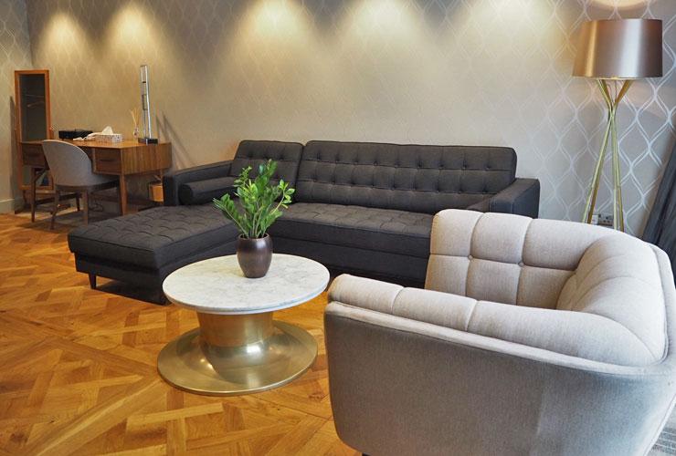 Hotel Room Lounge