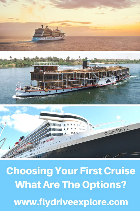 Choosing your first cruise, what are the options?