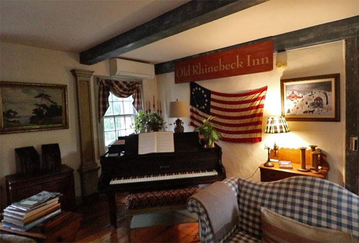 Inside the Old Rhinebeck Inn