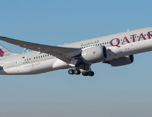 Qatar Airways Boeing787